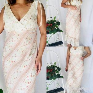 Rampage floral 90's Vintage dress sz 13 tall